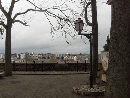 Promenade du Bout du Monde, lampadaire