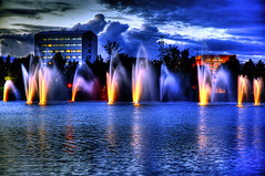 Waterworks (Henri Bonell) Tags: light water fountain night illuminations windy illuminated waterworks peopleschoice themoulinrouge eow supershot abigfave superaplus aplusphoto henribonell travelerphotos diamondclassphotographer superhearts theunforgetablepictures 5godeyes 3godeyes votedthebest colourartaward fiveflickrfavs theroadtoheaven