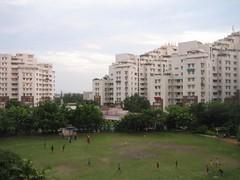 Udayan - the condoville, Kolkata (seaview99) Tags: india skyline view apartment housing kolkata calcutta condominium westbengal udayan bengalambuja condoville