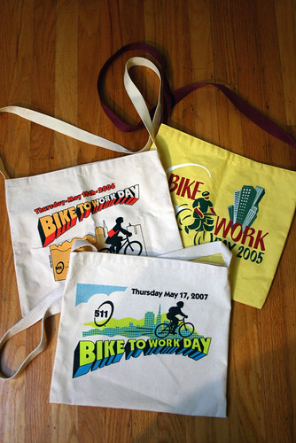 Musette Bags - Bike-To-Work-Day