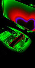 photocopy love (K e v i n) Tags: green love work office illinois interestingness neon glow heart il explore cairo photocopy atwork copier solarize invert sop ghostinthemachine photocopylove