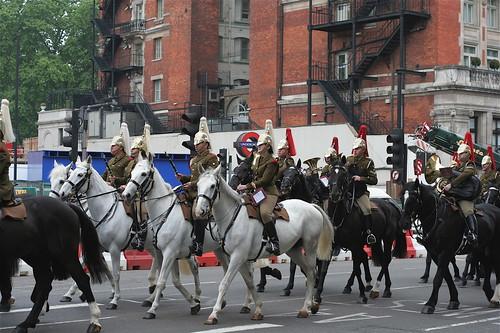Pferde in London