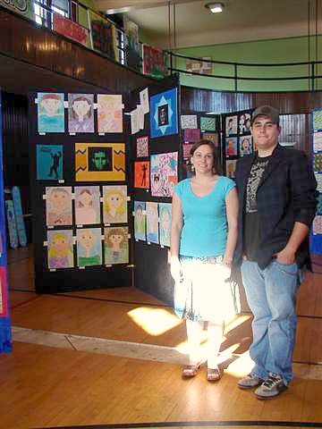 Elementary and HS art teachers organizers of the District Artshow