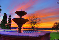 Fountain Sunset (norjam8) Tags: blue sunset red orange holland green fountain rock mexico purple michigan baroque fp hdr e15 mdc md4 lakemacatawa photomatix kollenpark md2 abigfave anawesomeshot colorphotoaward santiagodequeretaro wowiekazowie diamondclassphotographer flickrdiamond norjam8 flickrelite imgp8909hp piedradecantera norjamss