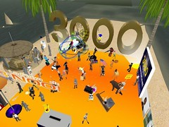 Fiesta 3000 membres Coopération française (Daneel Ariantho) Tags: fiesta secondlife area 51 3000 membres slbuzz coopration franaise