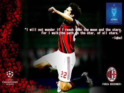 wallpaper milan. Kaka Leite AC Milan,