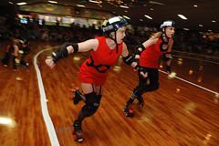 speedy (birdcage) Tags: rollerderby maryland baltimore nikond70s charmcityrollergirls mobtownmods puttyhillskateland majorthreat scheistymcfiesty