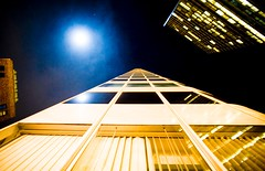 Inevitable (Thomas Hawk) Tags: sanfrancisco california city usa moon building architecture night bravo looking unitedstates 10 unitedstatesofamerica financialdistrict som upwards shakleeterraces fav10 444marketstreet 444marketst skidmoreowingsandmerrill 1frontstreet 1frontst