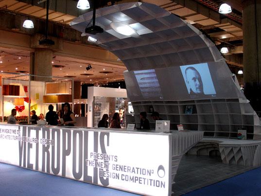 ICFF 2007, Metropolis Magazine, Metropolis booth