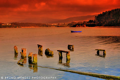 Saturation (BRUNO MNDEZ PHOTOGRAPHY) Tags: wood red espaa color colour water contrast boat spain rojo madera galicia galiza saturation lugo ria hdr foz lancha bote saturacin mndez anawesomeshot aplusphoto goldenphotographer chalano brunomndez brunomndezphotography