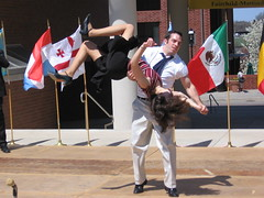 IMG_3323 (avsfan1321) Tags: people usa unitedstates dancing unitedstatesofamerica flags swing swingdancing aerials lehigh aroundtheworld internationalbazaar steelcityswingers