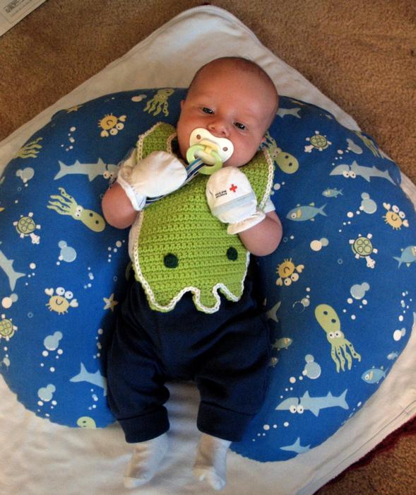 bebé babero de Cthulhu
