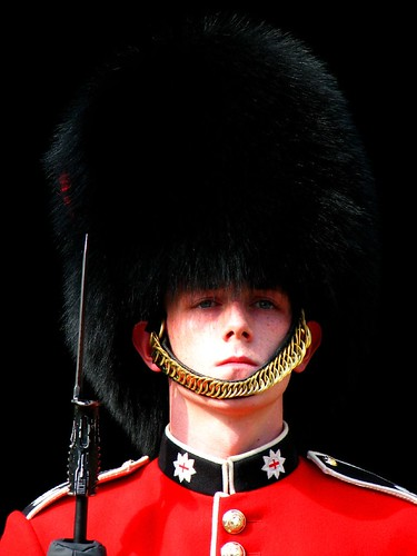 peta urges redesign of royal guard busby hats