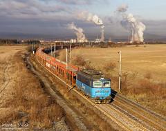 123.022 ČD Cargo, Štětí - Liběchov (CZ) (Martin Válek) Tags: labe elbe rail railroad railway train zug eisenbahn papírny českéstředohoří