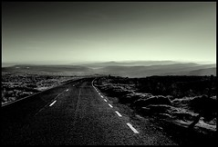 (andrewlee1967) Tags: yorkshire road blackandwhite andrewlee1967 uk abigfave outstandingshots andylee1967 canon400d moors england landscape mono bw monochrome focusman5 andrewlee