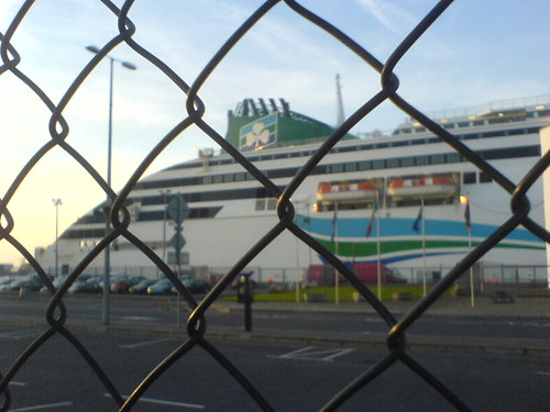 Irish Ferries boat
