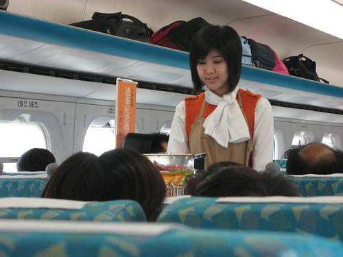 高鐵服務員