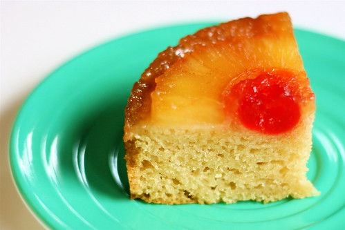 Mini Pineapple Upsidedown Cake
