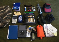 What's in my purse (Kitzzy) Tags: usa home canon orlando all notes florida purse sd600