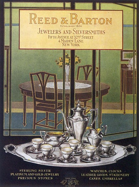 Reed & Barton Jewelers and Silversmiths, 1919