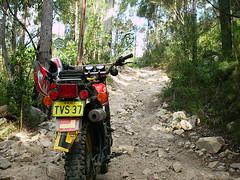 IMG_0003 (Fishy Mann) Tags: road 1982 hole hill rocky perch yamaha xt250