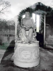 Inside Lowther Mausoleum