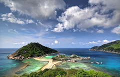 Paradise (L1GHT DR4W1NGS) Tags: travel thailand islands paradise quality beaches 1020mm soe hdr nikond2x outstandingshots specland outstandingshot nangyuanisland travelerphotos goldenvisions