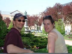 Esther en Ries Epinal (denise_baas) Tags: les bains wijnreis