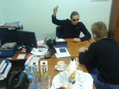 Миха рассказывает Косте про Forex