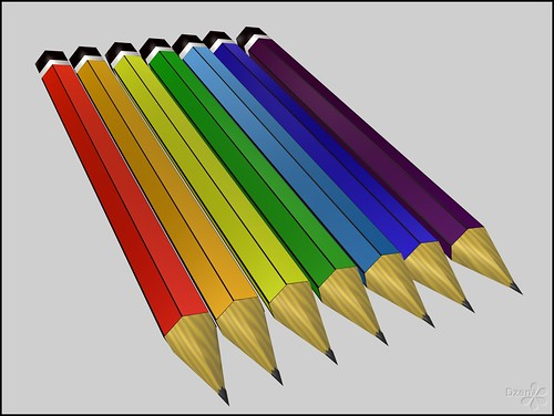 """Coloured"" Pencils"