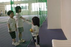 じゃ、テニスしてくるね〜