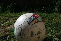Soccer ball. thebuffafamily/Flickr