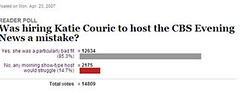 katie couric poll
