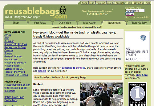 Reusable  Bags Newsroom