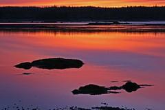 An Amazing Morning #3 (birds eye viewer) Tags: canada 20d home sunrise novascotia lowtide southshore 1on1sunrisesunsets sableriver abigfave superbmasterpiece beyondexcellence flickrdiamond
