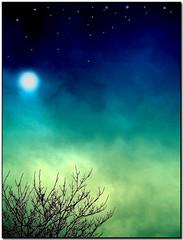 Enchanted realms (Maureen F.) Tags: sun moon tree colors photomanipulation stars bravo colours searchthebest magical elegance splendiferous supershot magicdonkey outstandingshots flickrsbest artlibre 6explore impressedbeauty superaplus aplusphoto ultimateshot 200750plusfaves goldenphotographer womblemagic colourartaward