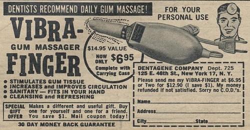 Vibra Finger message
