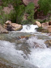 To' Nizhoni Ani (Al_HikesAZ) Tags: park camping arizona water creek wow landscape ilovenature waterfall bravo hiking grandcanyon grand canyon hike rapids national backpacking backpack backcountry hikes northrim inthecanyon grandcanyonnationalpark coloradoplateau literaryreference sacredwater gcnp awesomenature thunderriver outdoorbeauty unature tapeats alhikesaz azwwaterfall gdscreation belowtherim