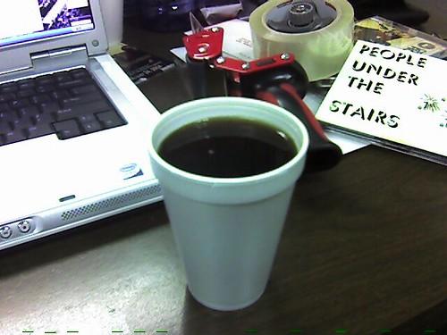 mmm... cafe con canela...
