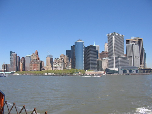 Manhattan from SIFerry