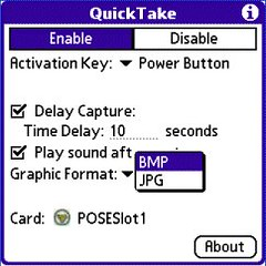 QuickTake for Palm