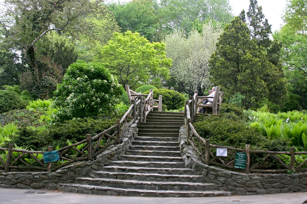 Staircase to Shakespeare Garden