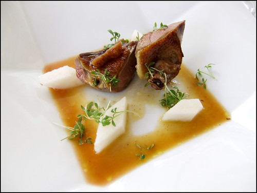 Jean Georges (New York) - Smoked Squab A L'Orange, Asian Pear, & Candied Tamarind
