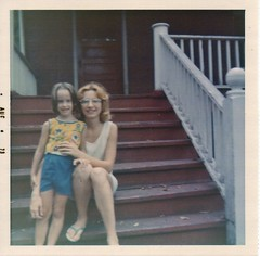 Me and my mother in August, 1973