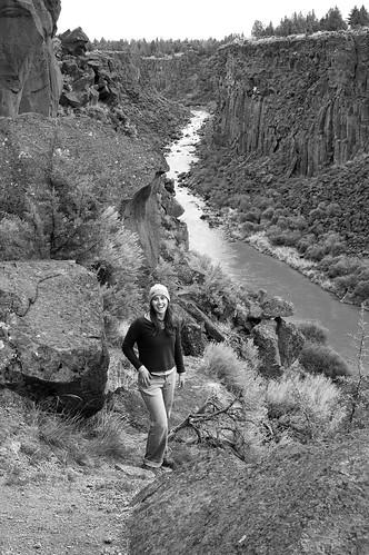 lara in the gorge