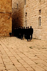 Going to pray at the Old City of Jerusalem
