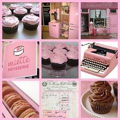 Think Pink!!! (holiday_jenny) Tags: pink france typewriter cake shop vintage fridge fdsflickrtoys chocolate harrods retro cupcake everything frosting macaroons miette