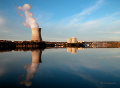 Arkansas Nuclear One in Daylight (1539a) (zormsk) Tags: power nuclear arkansas ano nuclearpower coolingtower lakedardanelle entergy zormsk specland arkansasnuclearone tlmccormick
