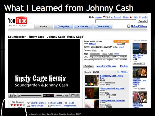 What I Learned from Johnny Cash