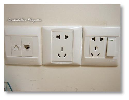 YH房間插座